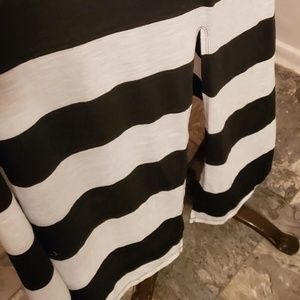 Band of Gypsies Dresses - Band of Gypsies Black & White Maxi Dress Size Med